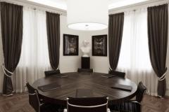 Tavolo riunioni in ebano