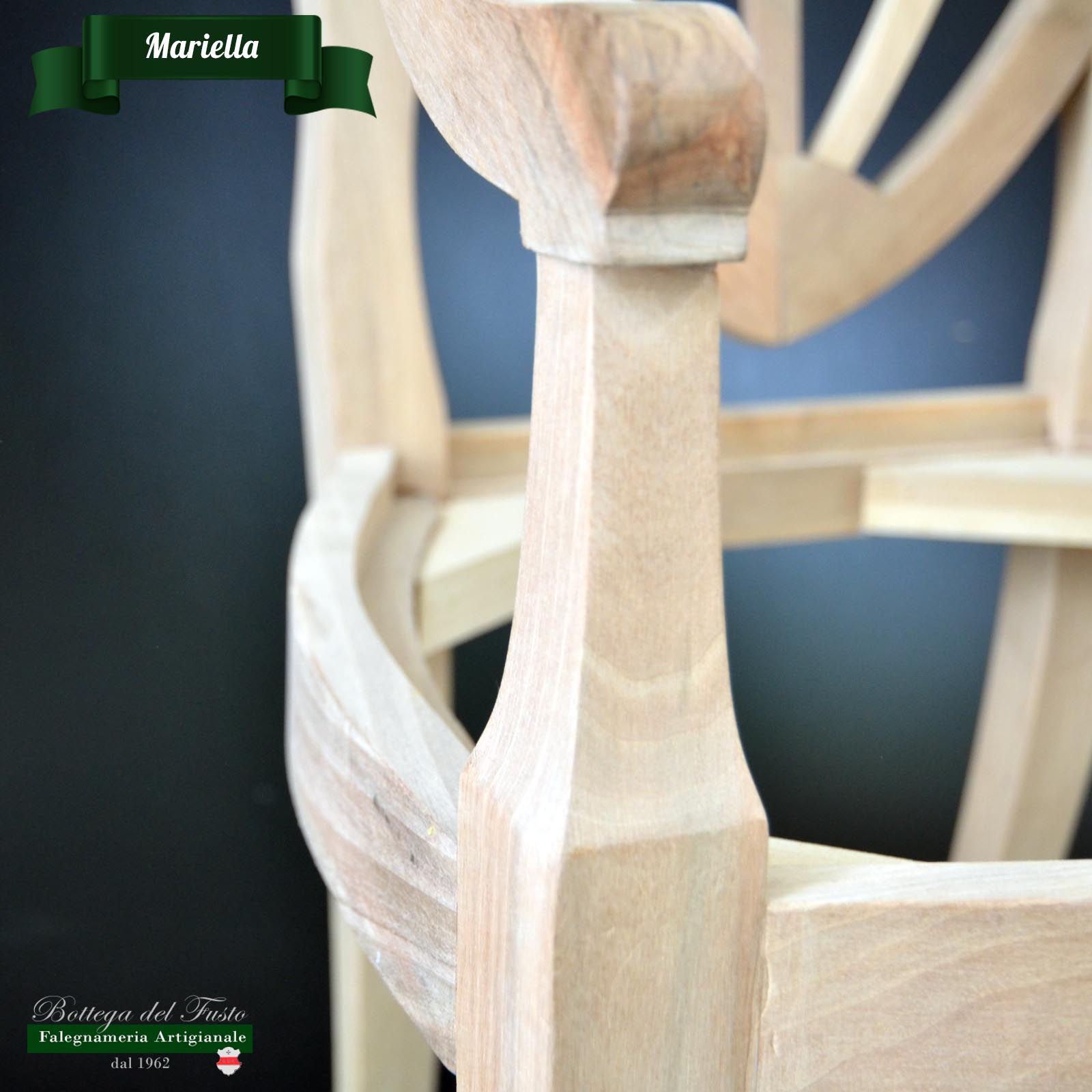 Bottega del Fusto - Mariella fusto sedia in faggio