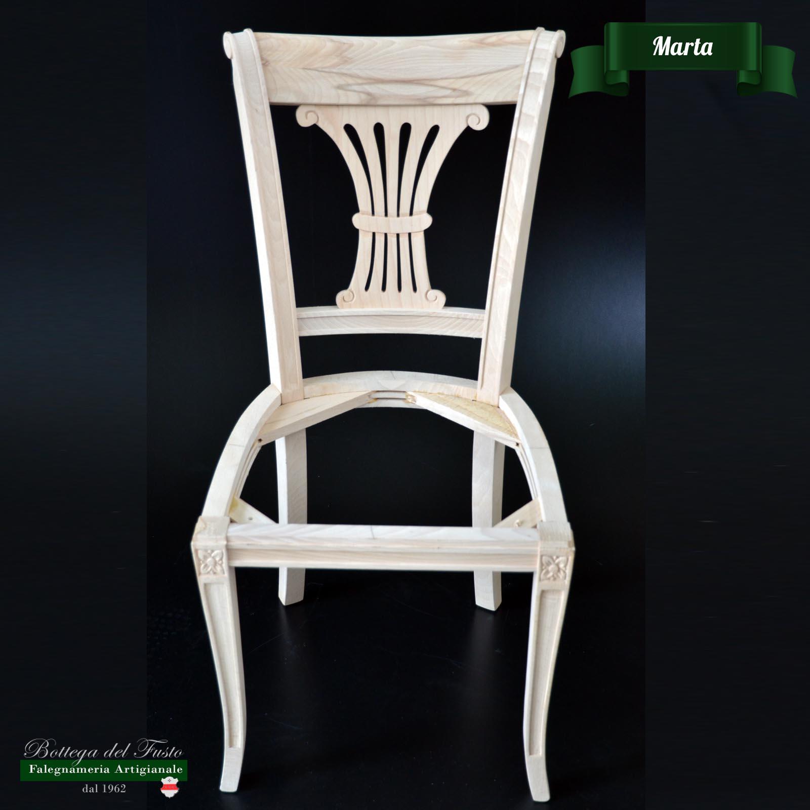 Bottega del Fusto - Marta fusto sedia in faggio