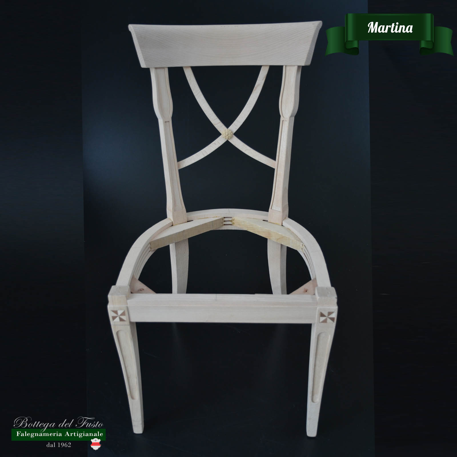 Bottega del Fusto - Martina fusto sedia in faggio