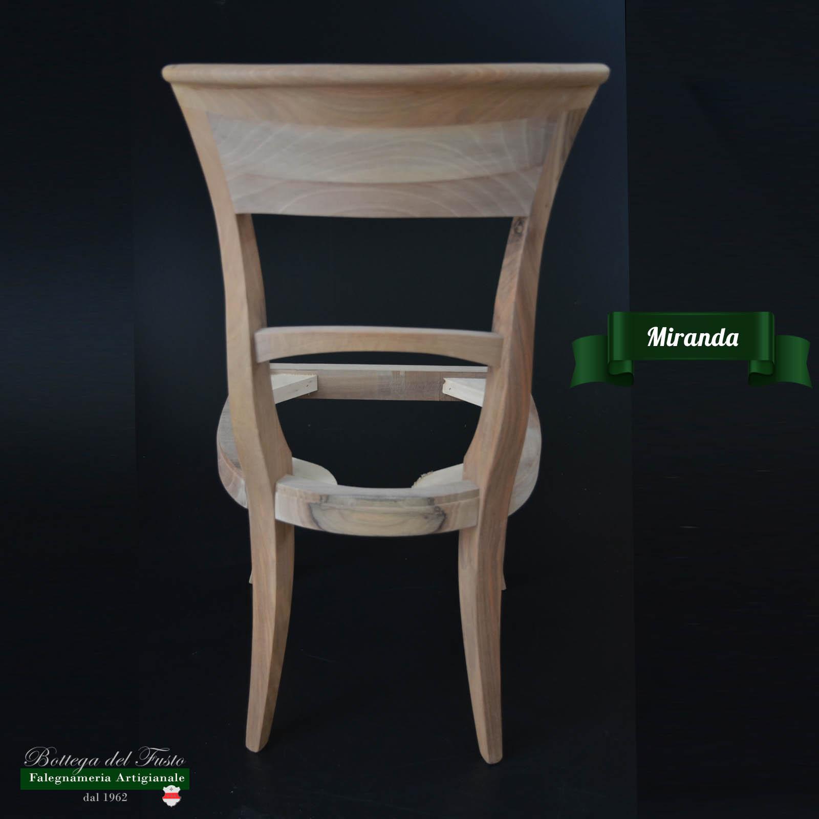 Bottega del Fusto - Miranda fusto sedia in faggio