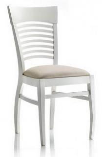 Sedia laccata bianca